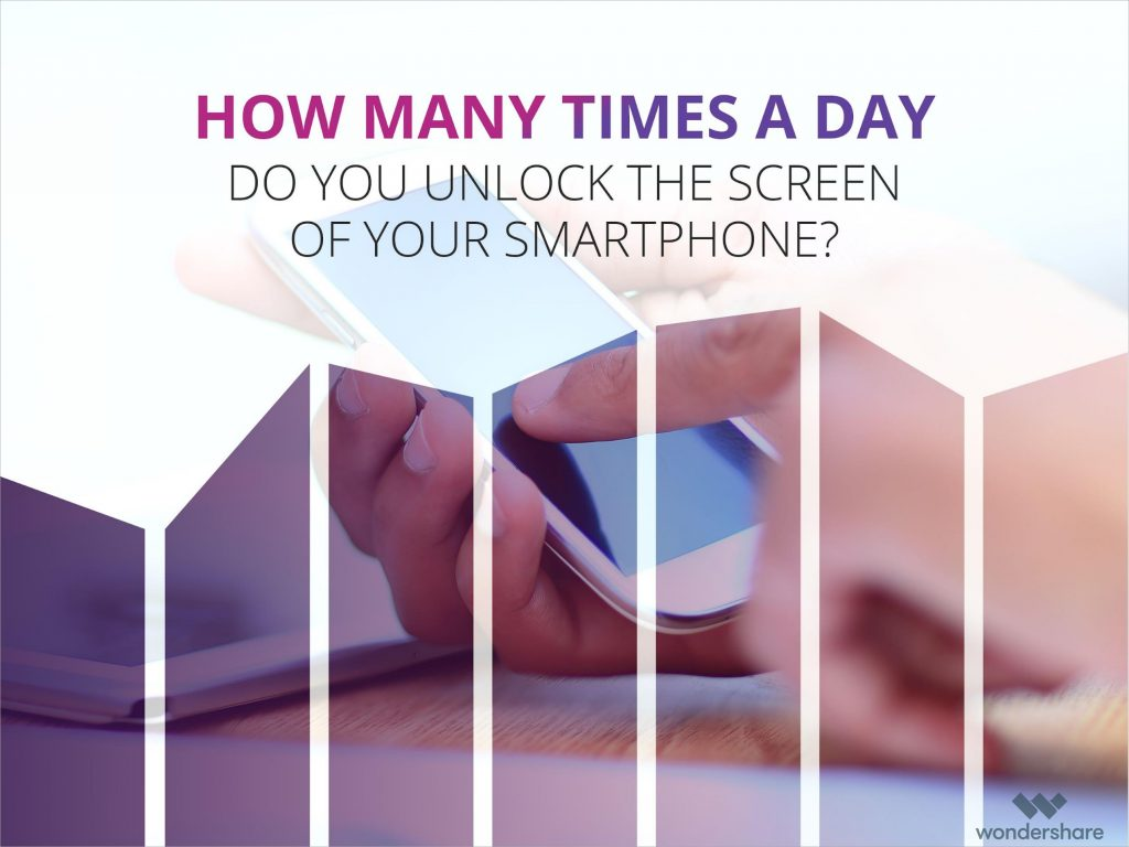 How many times a day do you unlock the screen of your smartphone?